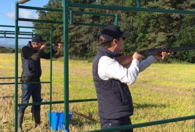 High Access on target in charity shoot