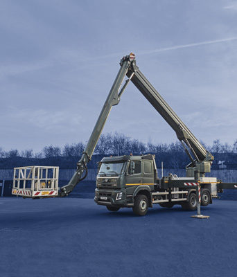 NSS have a range of vehicles from 20ft to 70ft capacities